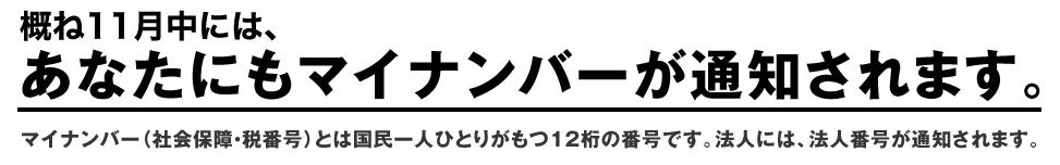 特集 マイナンバー:政府広報オンライン